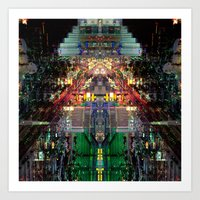 Citymmetry #4 Art Print