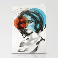 Der Kreis der Erinnerung 4 Stationery Cards