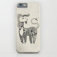 Spirit Animal: Black & W… iPhone 6 Slim Case