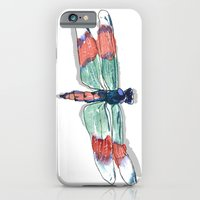 iPhone & iPod Case featuring dragonfly by Reneé Leigh Stephenson