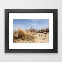 Sand Dunes Framed Art Print