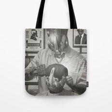Cyber Barber Tote Bag