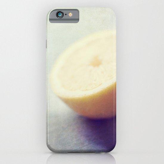 Lonely Lemon iPhone & iPod Case