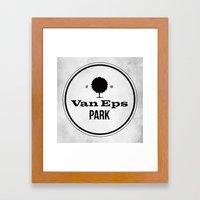 Van Eps Park Framed Art Print