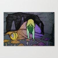 Cavefolk Canvas Print