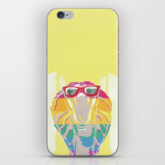 Cobra don't care iPhone & iPod Skin