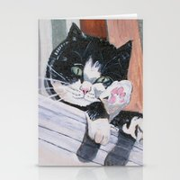 Daisy the Cat Stationery Cards