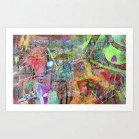 Color Dance Art Print