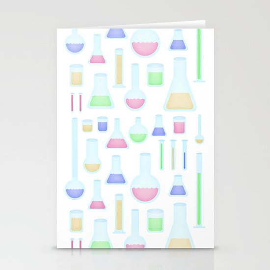 Chemicals  Stationery Card