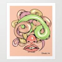 More to say Art Print