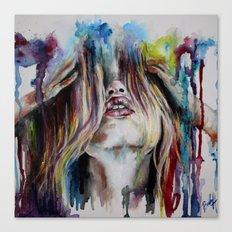Haircolor (Study) Canvas Print