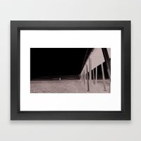 You and me in Venice beach Framed Art Print