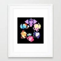 Mane Six 2 Framed Art Print