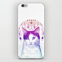 Of cats and insects iPhone & iPod Skin
