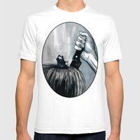 Carve It To Death Mens Fitted Tee White SMALL