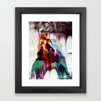 Dip It // 404 error  Framed Art Print