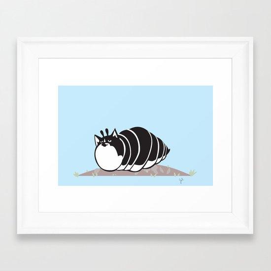 Kittypillar Framed Art Print