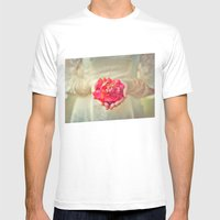 Offering Mens Fitted Tee White SMALL