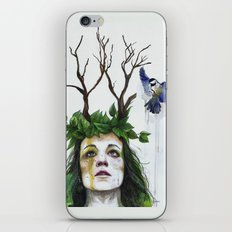 Waiting For Bloom iPhone & iPod Skin