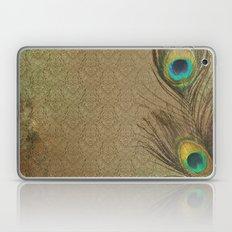 Vintage Peacock Feather Laptop & iPad Skin