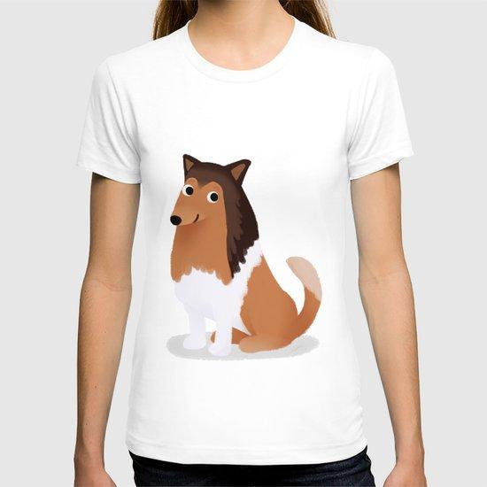 Collie - Cute Dog Series T-shirt