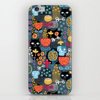 Funny Cemetery. iPhone & iPod Skin