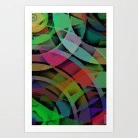 Shapes#3 Art Print