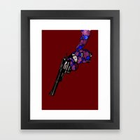 Oceanic Menace 2 Framed Art Print