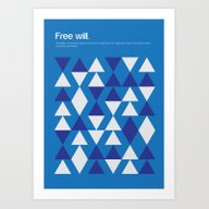 Art Print featuring Free Will by Genis Carreras