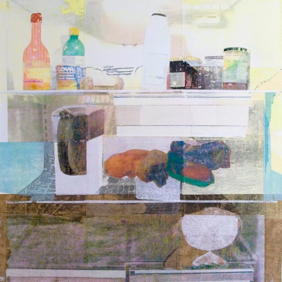 Starving Artist (D.W) Canvas Print