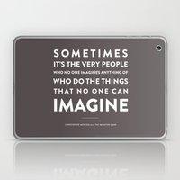 Imagine - Quotable Series Laptop & iPad Skin