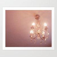 Warm Light Art Print