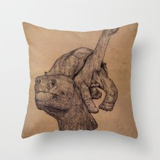 Lonely George  Throw Pillow