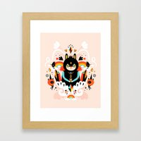 Rainbow Queen Framed Art Print