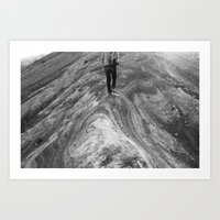 Follow Me.  I Know What I'm Doing. Art Print