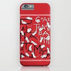 Chaz Tenenbaum's Dalmatian Mice Slim Case iPhone 6s