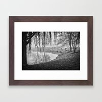 A bridge to our future Framed Art Print