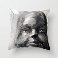 Johnny Mannequin Throw Pillow