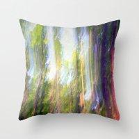 Sun Shower In The Fairy … Throw Pillow