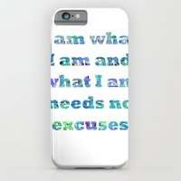 iPhone & iPod Case featuring I am what I am by Aimee St Hill
