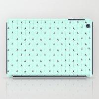 Mint Magic Arrows iPad Case