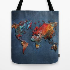 World Map 2020 Tote Bag