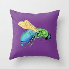 Bee Strong 2 Throw Pillow