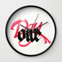 One day / day one Wall Clock
