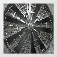 Raw Power Canvas Print