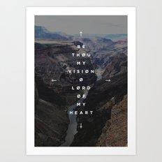 Be Thou My Vision Art Print