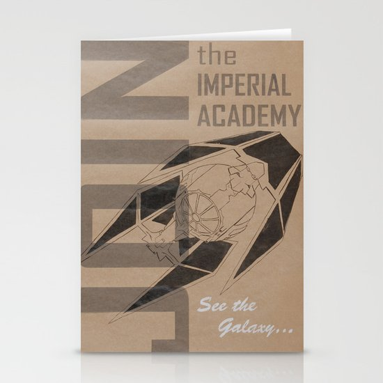Join The Imperial Academy! Stationery Card