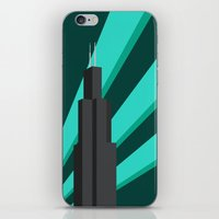 Sears Tower iPhone & iPod Skin