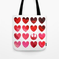 Star Wars Rebel Alliance Valentine Tote Bag