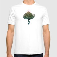 My Favorite Flower Mens Fitted Tee White SMALL